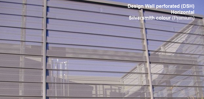 Design Wall perforé (DSH) Silversmith